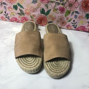 Coach espadrille sandals ⭐️